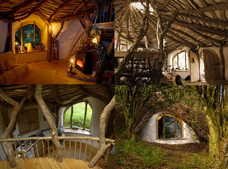 maison de hobbit. Black Bedroom Furniture Sets. Home Design Ideas