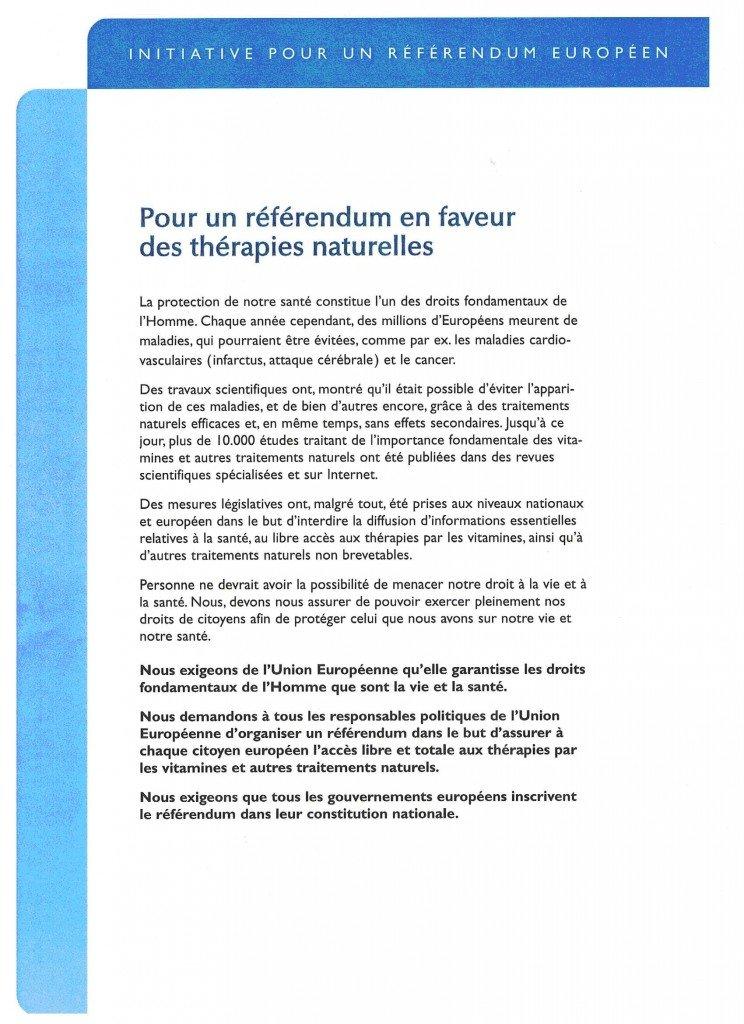 referendum dans Santé Humaine et Animal