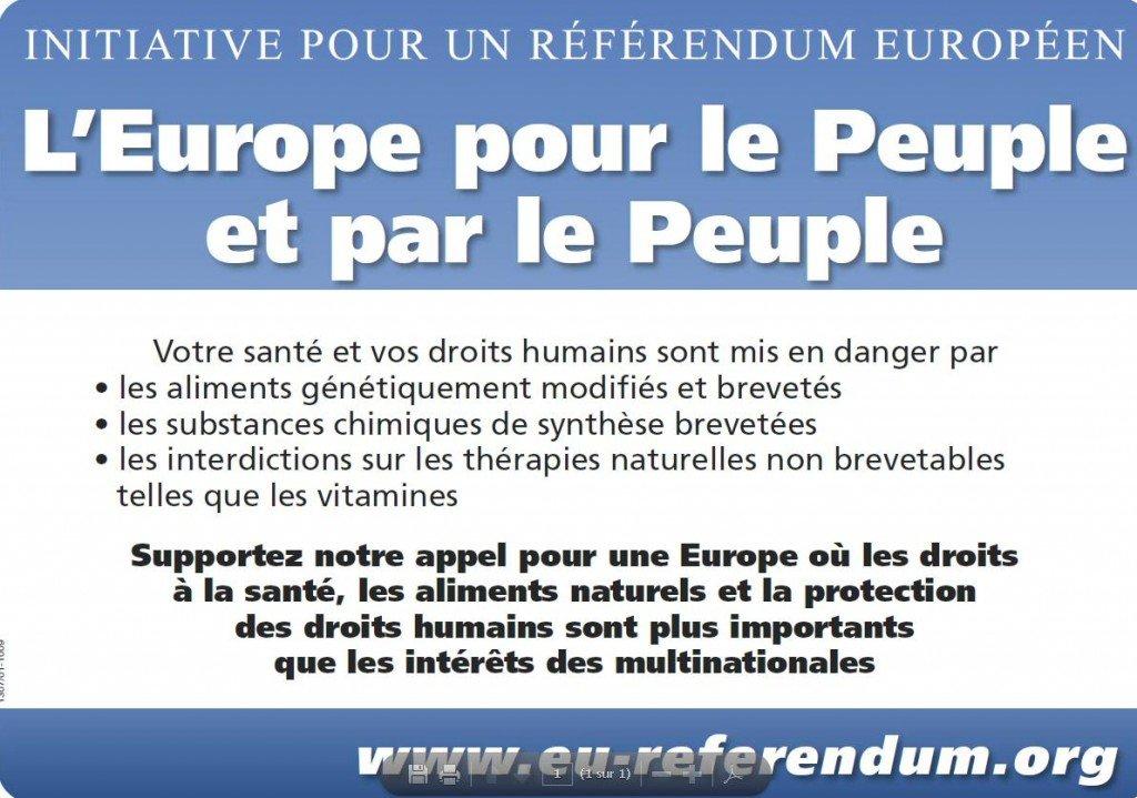 Pétition au Référendum en faveur des traitements naturels dans Pétition sauvons la forêt, cyberaction et autres referendum2